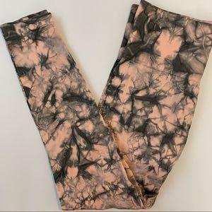 Mona B High-rise Tie Dye Active Leggings